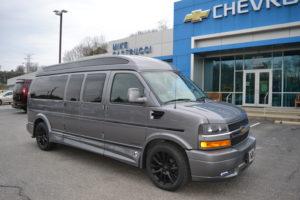 2020 Chevy Express 9 Passenger Explorer Limited X-SE VC 1GCWGBFG2L1261912 Mike Castrucci Conversion Van Land