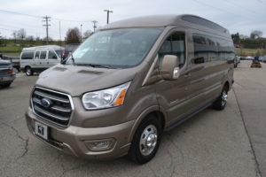 2020 Ford Transit AWD 9 Passenger Explorer Limited SE-VC 1FTYE2YG3LKB31868 Mike Castrucci Conversion Van Land