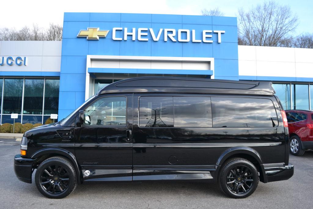 2021 Chevy Express 2500 - Explorer Limited X-SE VC 1GCWGAF7XM1174089 Mike Castrucci Conversion Van Land