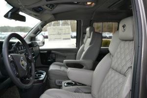 2021 Explorer Van GM Interior
