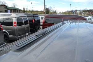 Lo-Pro tracks by ProRac Systems Inc 2021 Explorer Van Low Top options
