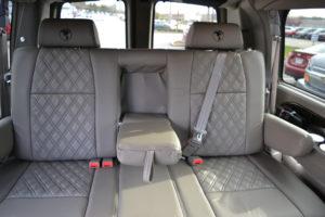 Comfortable Room for Adults in Every Seat 2021 Explorer Van Dealer Mike Castrucci Chevrolet Conversion Van Land