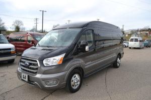 2020 Ford Transit AWD 9 Passenger Explorer Limited SE-VC 1FTYE2YG0LKB51851 Mike Castrucci Conversion Van Land
