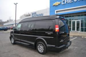 4X4 Conversion Van Land