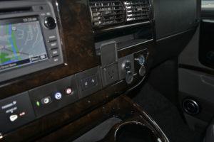 2020 Chevrolet GMC Conversion Van Interior Dash