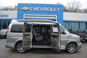 2020 GM Van Exterior Mike Castrucci Chevrolet