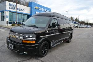 2019 Chevy Express 4X4 9 Passenger Explorer Limited X-SE 1GCWGBFG4K1212130 Mike Castrucci Conversion Van Land