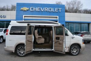 2021 Chevrolet Express Explorer Limited X-SE Explorer Conversion Van Mike Castrucci Chevrolet Conversion Van Land