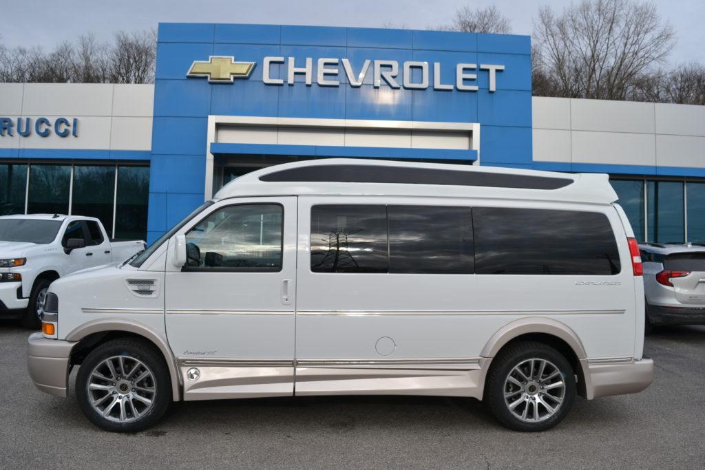 2021 Chevy Express 2500 - Explorer Limited X-SE VC 1GCWGAF78M1172857 Mike Castrucci Conversion Van Land
