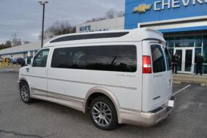 2021 Chevrolet Express 9 Passenger Explorer Conversion Van Limited X-SE Mike Castrucci Conversion Van Land
