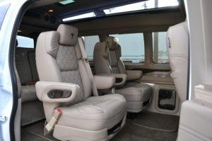 Travel Comfortably 2021 Explorer Van Interior Conversion Van Land