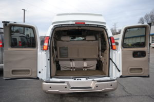 Cargo Room, get your Team and their Gear where you want to be. Make the Travel part of the Fun. Mike Castrucci Conversion Van Land 2021 Explorer Van