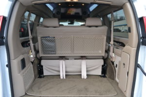 Make the Travel part of the Fu, Plenty of Cargo room for all of the Adventures Mike Castrucci Chevy Conversion Van Land 2021 Chevrolet Express Explorer Conversion Van