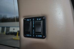 Rear Power Sofa Control, 2021 Explorer Van interior mike Castrucci Conversion Van Land