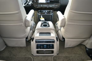 2021 Explorer Van interior