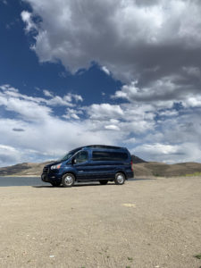 2020 AWD Transit Blue Metallic Explorer Conversion Van Land