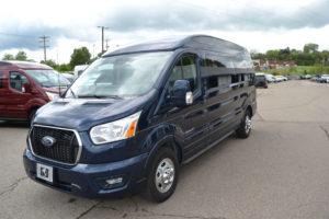 2021 Ford Transit AWD 9 Passenger Explorer Limited SE-VC 1FTYE2YG6MKA02654 Mike Castrucci Conversion Van Land