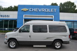 2011 Ford Ecololine UVL Under Van lift, Tuscany VMI 1FTNE1EL6BDA40854 Conversion Mike Castrucci Conversion Van land
