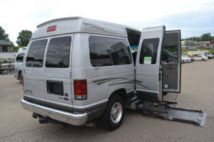 Used Full Size Mobility Van Conversion Van land