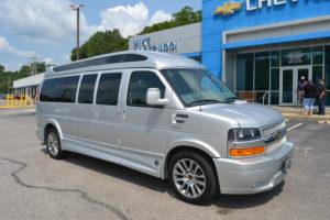 2020 Chevy Express 4x4 9 Passenger - Explorer Limited X-SE VC Sport 1GCWGBFG4L1258784 Mike Castrucci Chevrolet Conversion Van Land 1099 Lila Ave Milford OH 45150