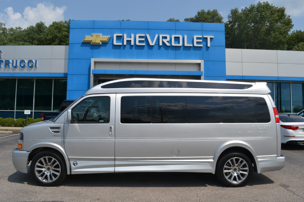 2020 Chevy Express 4x4 9 Passenger - Explorer Limited X-SE VC Sport 1GCWGBFG4L1258784 Mike Castrucci Chevrolet Conversion Van Land 1099 Lila Ave Milford OH 45150
