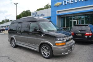 2020 Chevy Express 2500 Explorer Limited X-SE VC 1GCWGAFG0L1256881 Mike Castrucci Conversion Van Land
