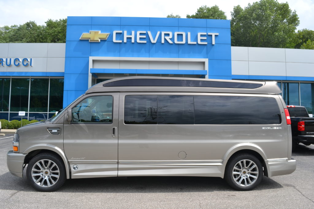 2020 Chevy Express 9 Passenger Explorer Limited X-SE VC 1GCWGBFG5L1256929 Mike Castrucci Conversion Van Land