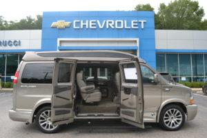 2020 Chevy Express 2500 Explorer Limited X-SE VC 1GCWGAFG4L11257029 Conversion Van Land