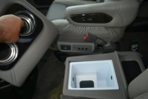 New 2020 Center Ice Chest, take some Drinks keep them Ice Cold. Explorer Van Company
