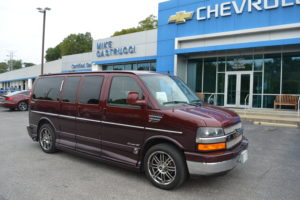 2010 Chevy Express 1500 Explorer Limited X-SE 1GBUGEB46A1151077 Mike Castrucci Conversion Van Land