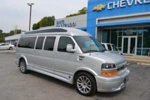 2020 Chevy Express 9 Passenger - Explorer Limited X-SE VC Sport 1GCWGBFG4L1259174 Mike Castrucci Conversion Van Land