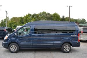2020 Ford Transit 9 Passenger - Explorer Limited SE-VC 1FTYE2YG3LKA85661 Mike Castrucci Conversion Van Land