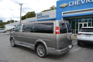 2020 Chevy Express 2500 4X4 Explorer Limited X-SE 1GCWGAFG1L1261586 Conversion Van Land