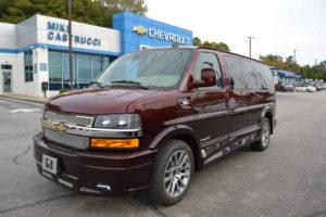 2020 Chevy Express 2500 - Explorer Limited X-SE 1GCWGAFG3L1258009 Mike Castrucci Conversion Van Land