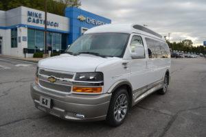 2020 Chevy Express 2500 - Explorer Limited X-SE VC 1GCWGAFG4L1257645 Mike Castrucci Conversion Van land