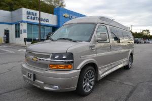 2020 Chevy Express 9 Passenger Explorer Limited X-SE VC 1GCWGBFG5L1261824 Mike Castrucci Conversion Van Land