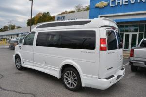 2020 Chevy Express 2500 - Explorer Limited X-SE VC 1GCWGAFG6L1152380 Mike Castrucci Conversion Van Land