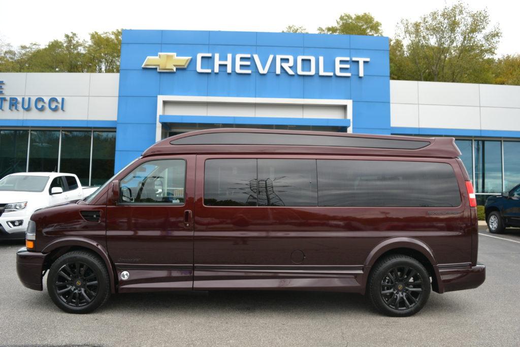 2020 Chevy Express 9 Passenger Explorer Limited X-SE VC 1GCWGBFG2L1255348 Mike Castrucci Chevrolet Conversion Van Land