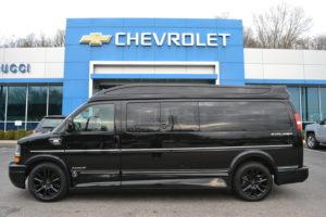 2016 Chevy Express 9 Passenger Explorer Limited X-SE VC 1GCWGBFG3G1228021 Mike Castrucci Conversion Van Land