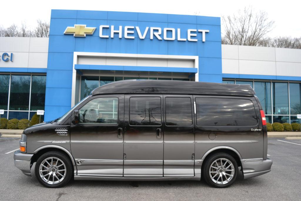 2011 Chevy Express Explorer Limited X-SE 1GBSGDC4XB1134252 Mike Castrucci Conversion Van Land