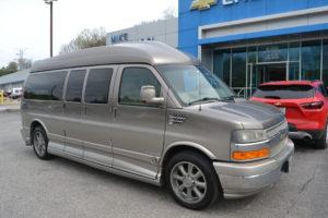 2011 Chevy Express 2500 9 Passenger - Explorer Limited X-SE 1GBWGLCG2B1175836 Mike Castrucci Conversion Van land