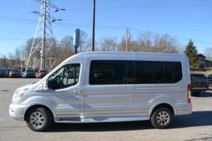 2021 Ford Transit 250 Mid Roof 9 Passenger Explorer Limited SE1FTBR1CGXMKA06332 Mike Castrucci Conversion Van land