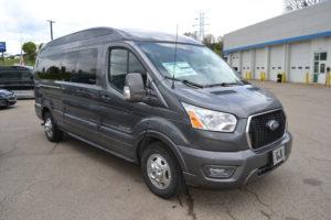 2021 Ford Transit AWD 9 Passenger - Explorer Limited SE-VC 1FTYE2YG2MKA07141 Mike Castrucci Conversion Van Land