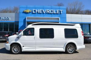 2020 Chevy Express 4x4 9 Passenger - Explorer Limited X-SE VC Sport 1GCWGBFP5L1146446 Mike Castrucci Conversion Van Land