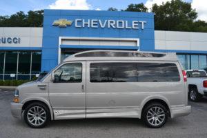2019 Chevy Express 2500 - Explorer Limited X-SE VC 1GCWGAFG2K1179218 Mike Castrucci Conversion Van Land