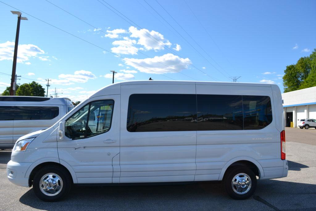 2021 Ford Transit AWD 250 MR 9 Passenger - Explorer Limited SE 1FTBR2CG6MKA34294 Mike Castrucci Conversion Van Land