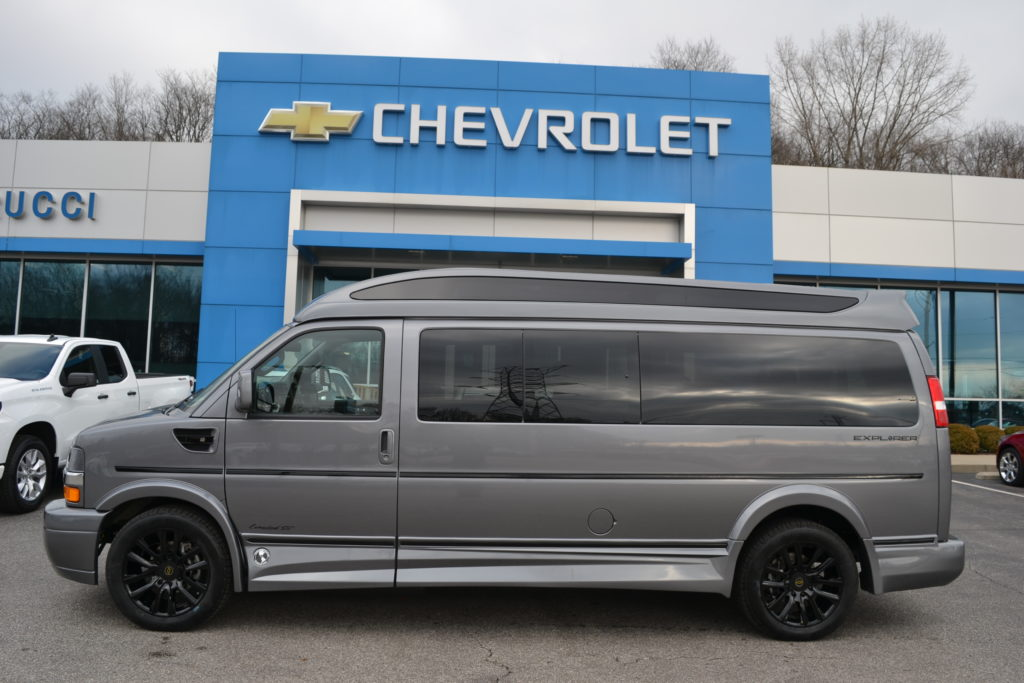 2021 Chevy Express 9 Passenger - Explorer Limited X-SE VC 1GCWGBF70M1179937 Mike Castrucci Chevrolet Conversion Van Land
