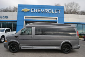 2021 Chevy Express 9 Passenger - Explorer Limited X-SE VC 1GCWGBF70M1179937 Mike Castrucci Chevrolet Conversion Van Land