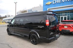 2019 Chevy Express 4X4 9 Passenger Explorer Limited X-SE 1GCWGBFG4K1212130 Mike Castrucci Conversion Van Land (4)