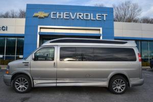2020 Chevy Express 9 Passenger Explorer Limited X-SE VC 1GCWGBFG6L1259175 Mike Castrucci Conversion Van Land